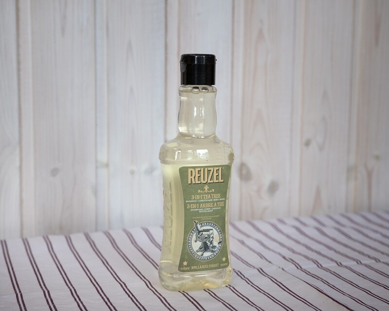 Reuzel 3*in*1 Tea Tree Shampoo 350ml