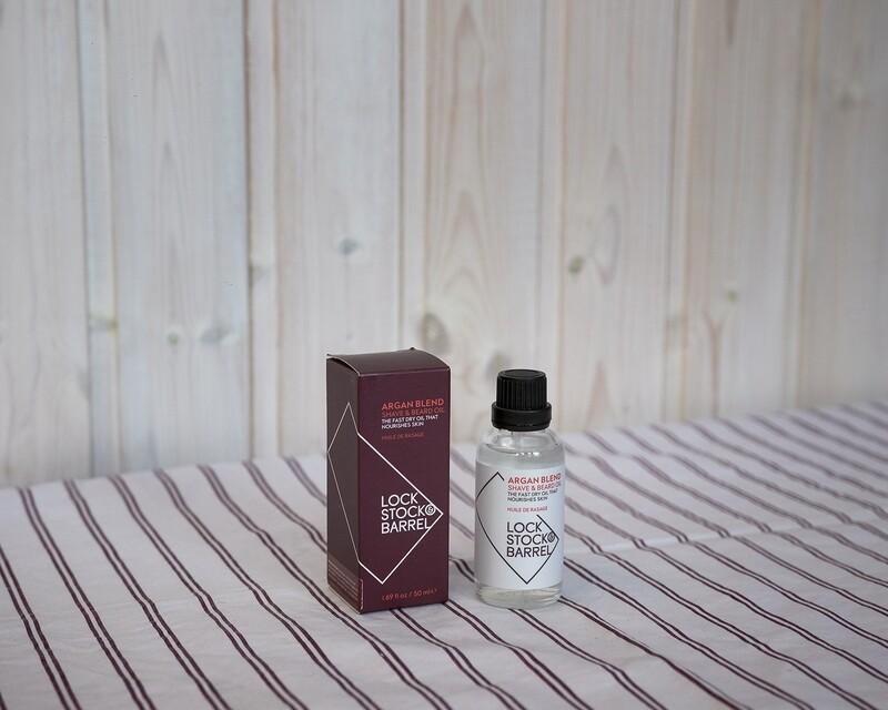 LS&B Аргановое масло для бритья 50ml