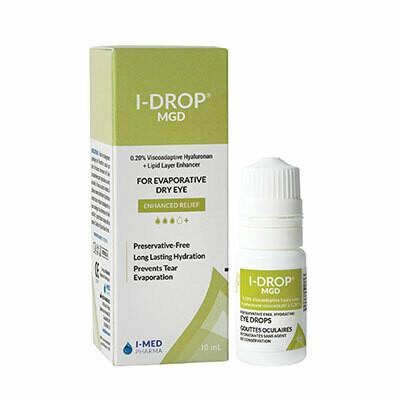 I-DROP® MGD (For Chronic Evaporative Dry Eye)