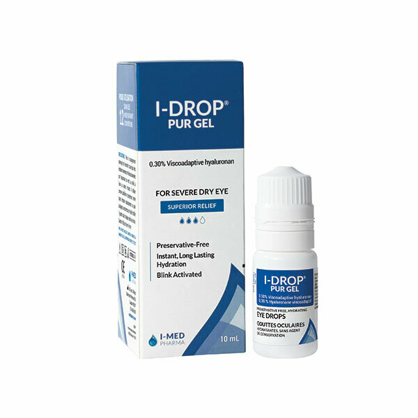 I-DROP® PUR GEL – SUPERIOR RELIEF! (For Moderate to Severe Dry Eye)