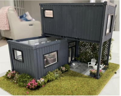 1:48 CONTAINER weekend retreat - Kit only