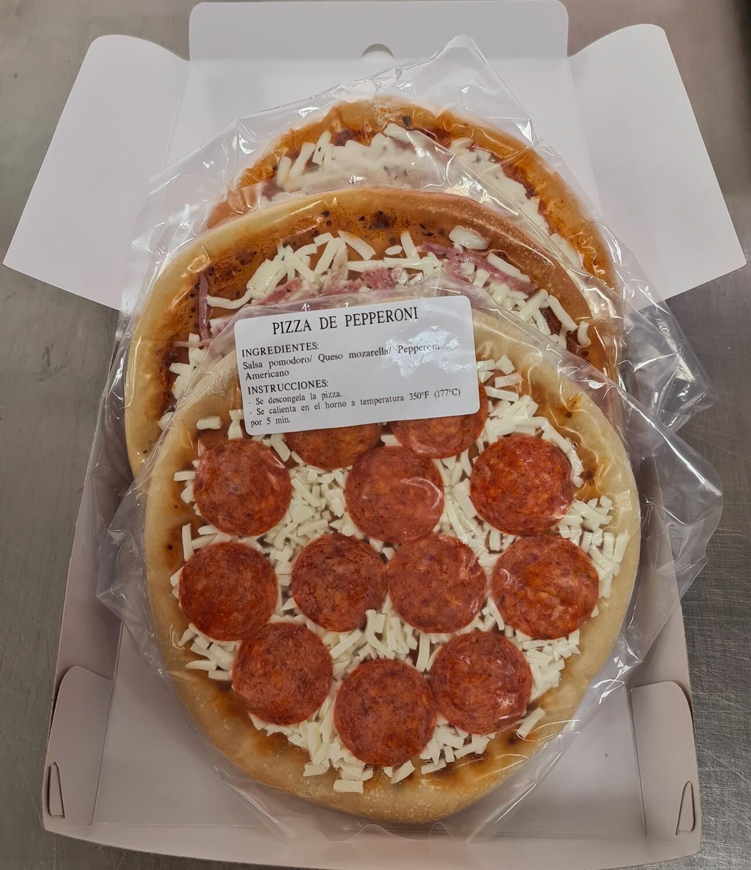 Caja de Pizzas completas (3 Unidades)