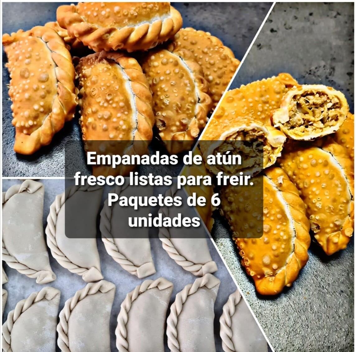 Empanadas de Atun fresco (Crudas)
