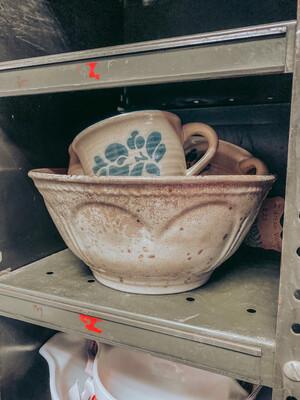 Antique Pottery Bowl