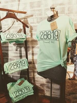 T-shirt 28619 Drexel sz Small Mint