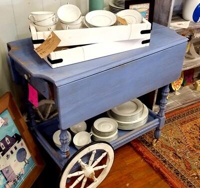 Vintage Dropleaf Tea Cart