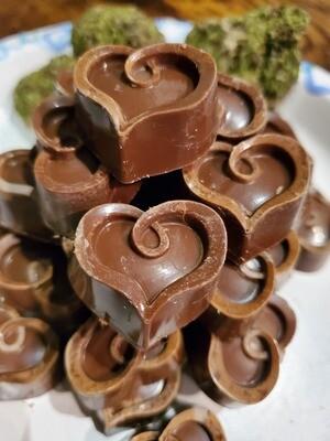 Milk Chocolates [Hearts] - 500 mg