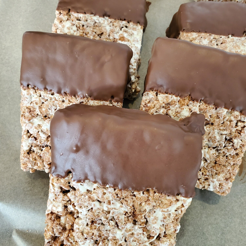 Chocolate Dipped Cocoa Krispy Treat - 1,300 mg