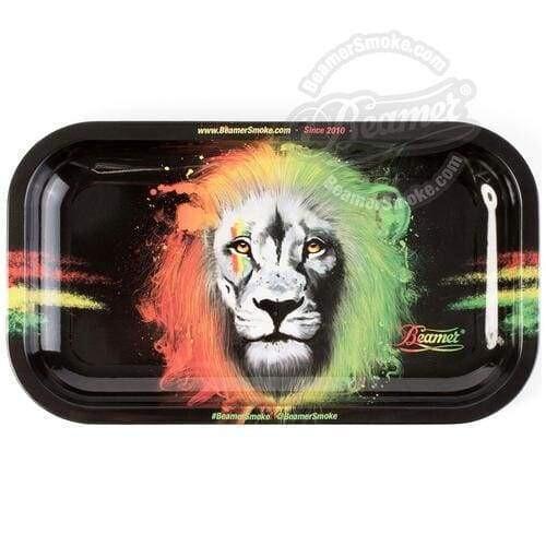 Rolling Tray - Rasta Lion