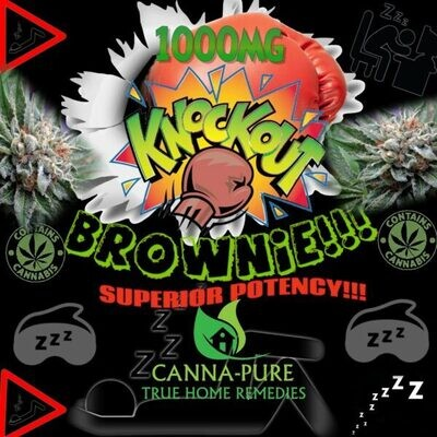 KNOCKOUT Brownie - 1,000 mg