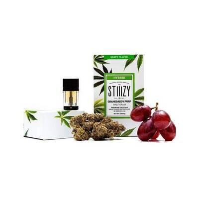 STIIIZY Grandaddy Purp - Grape Flavor Premium THC 1 GRAM POD