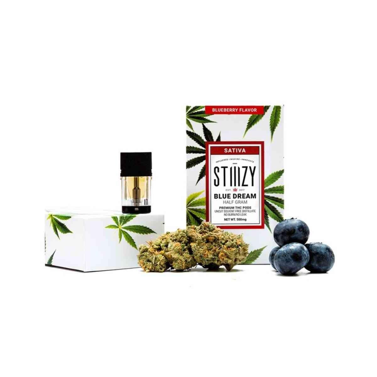 STIIIZY Blue Dream - Blueberry Premium THC 1 GRAM POD