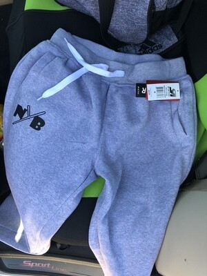 grey fall sweats (lettering)