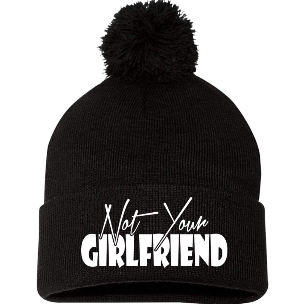 not your girlfriend beanie