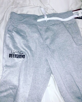 grey fall sweats (nyb/nyg)