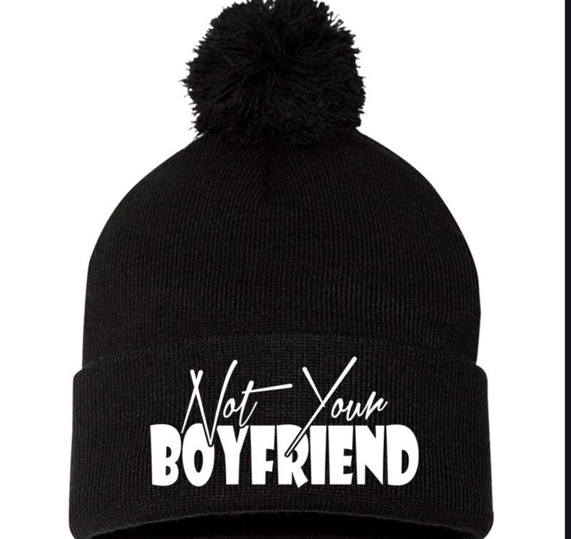 Not your boyfriend beanie