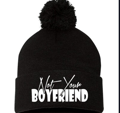 Not your boyfriend beanie