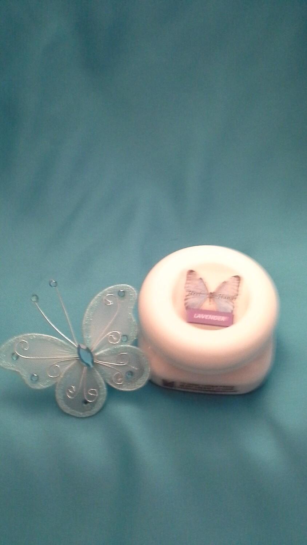 Cream Plastic Jar 4 oz
