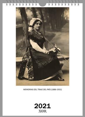 Almanaque 2021 Memorias del Traje del País (1886-1931)