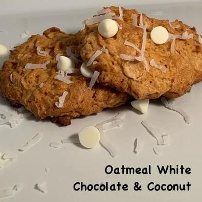 Oatmeal White Chocolate & Coconut