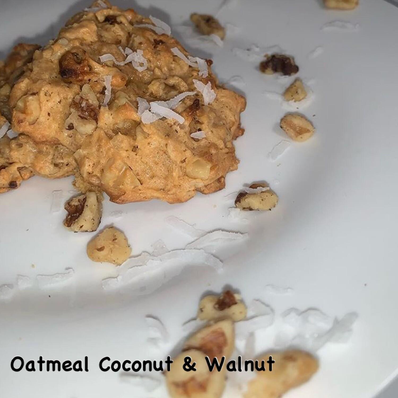 Oatmeal Coconut & Walnut