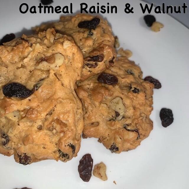Oatmeal Raisin & Walnut