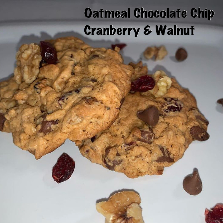 Oatmeal Chocolate Chip, Cranberry & Walnut