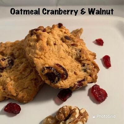 Oatmeal Cranberry & Walnut