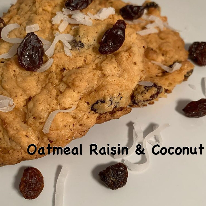 Oatmeal Raisin & Coconut