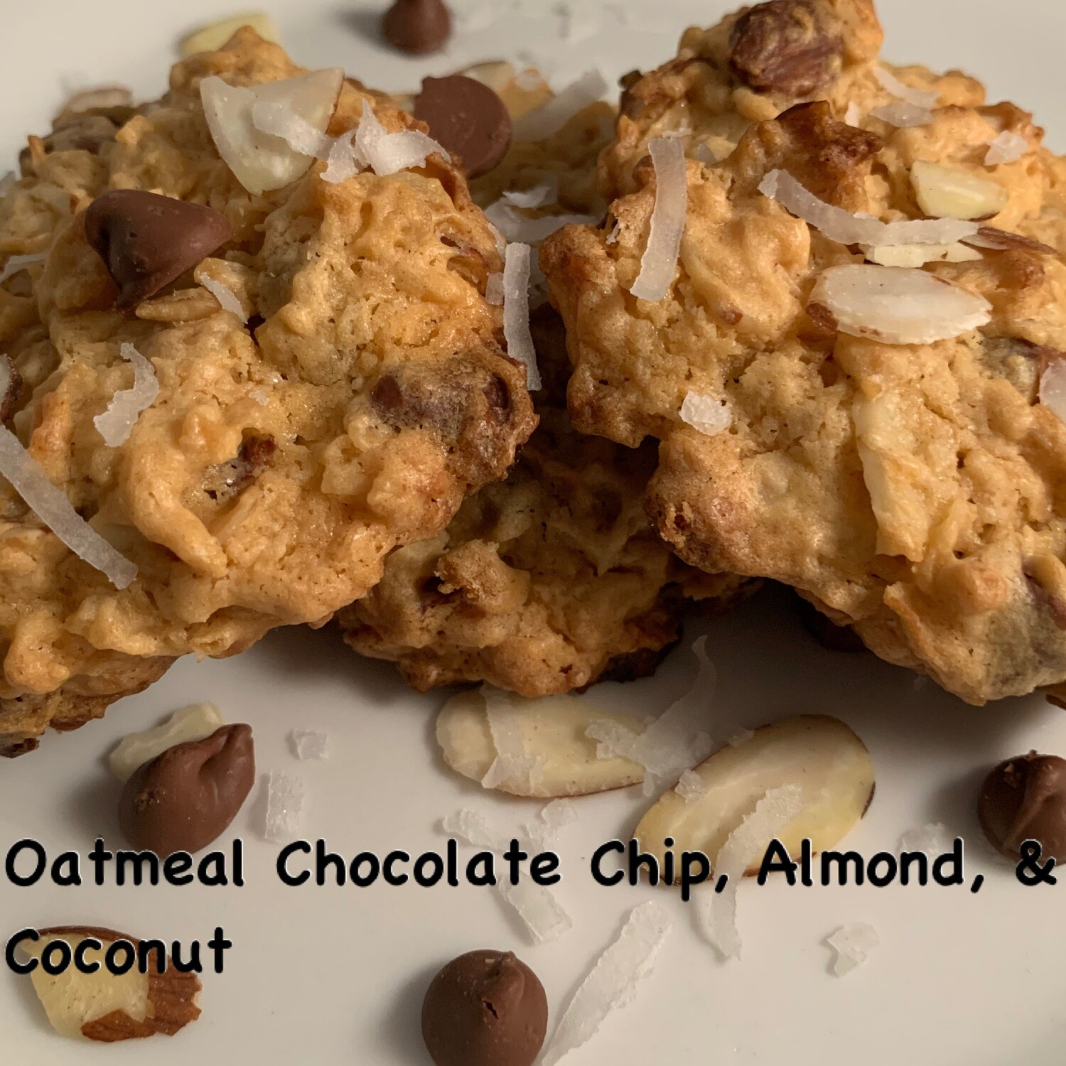 Oatmeal Chocolate Chip, Almond & Coconut
