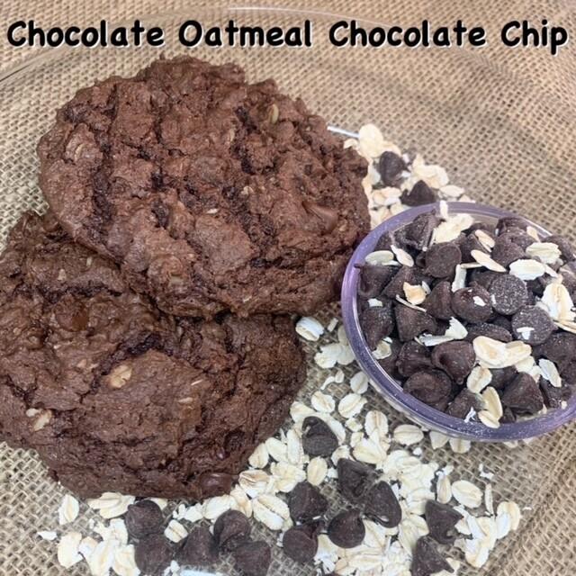 Chocolate Oatmeal Chocolate Chip