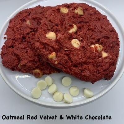 Oatmeal Red Velvet