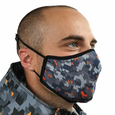 Mens Camo Face Mask