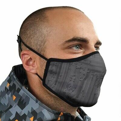 Mens Circuit Face Mask