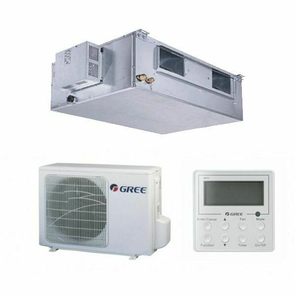 7KW GREE DUCTED PACKAGE (10KW is $800 MORE)