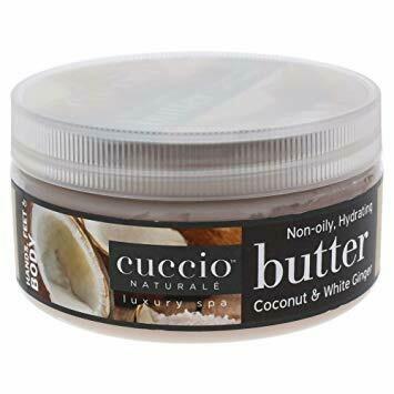 Cuccio beurre hydratant Noix de Coco et Gingembre Blanc