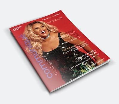Special Holiday Issue - Darlene Love (DECEMBER)