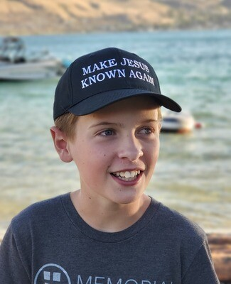 Make Jesus Known Again - Black Adjustable Hat
