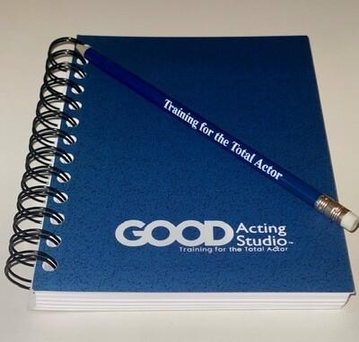 GOOD Acting Studio Journals (pencil included)