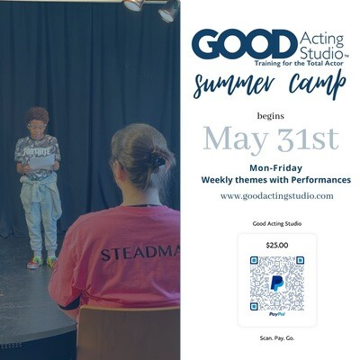 Good Acting Summer Camp - Registration Fee