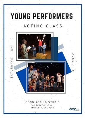 Young Performers Acting Class Regular
