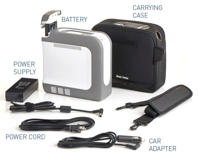 Drive iGo2 Portable Oxygen Concentrator