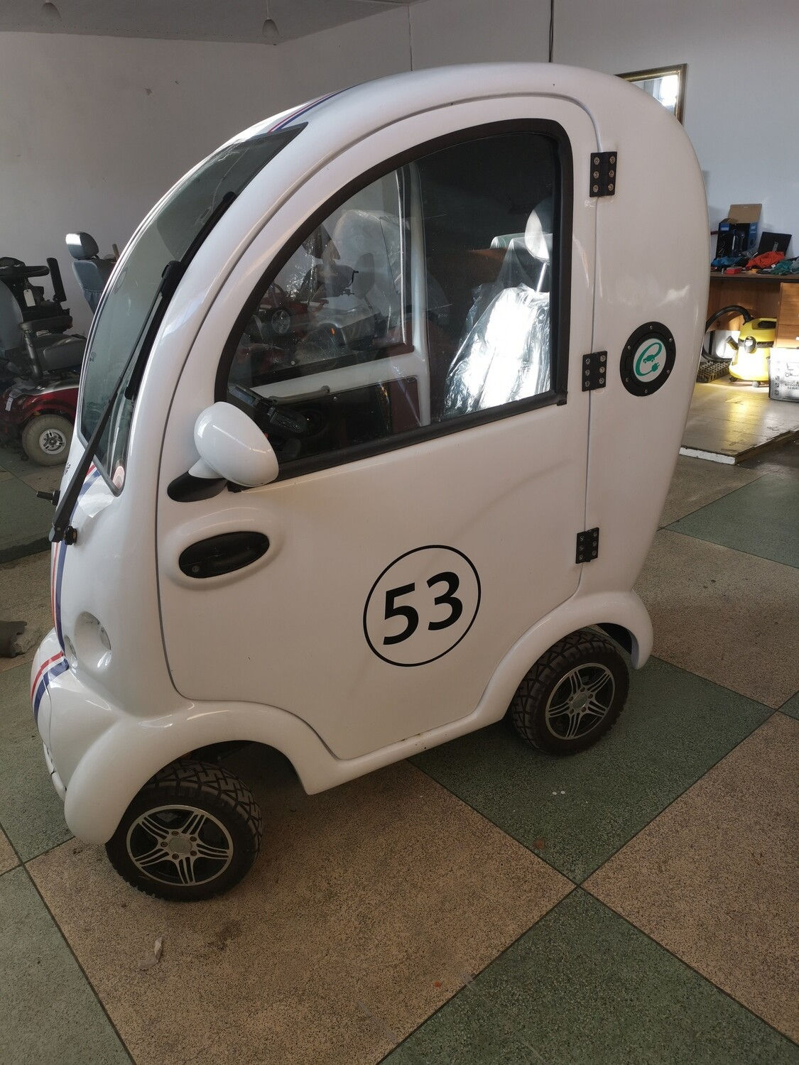 Used Scooterpac Cabin Car Mk2