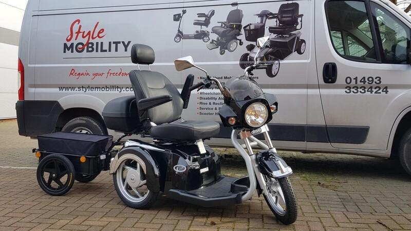 Drive Easy Rider, Lockbox & Trailer (BUNDLE)