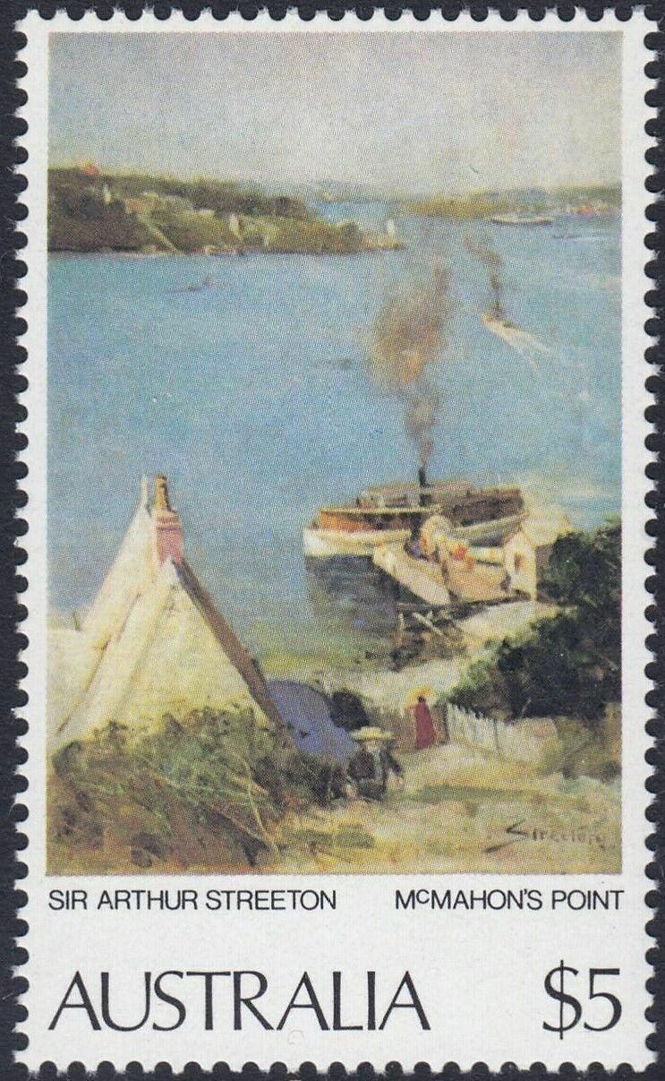 Australia 1979 $5 McMahons Point MUH