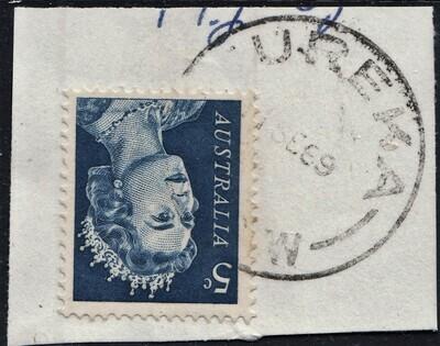Australia Unusual Placename Postmarks - Eureka NSW on 5c QEII