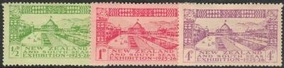 New Zealand 1925 Dunedin Exhibition Set MH
