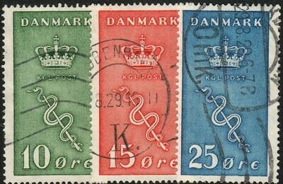 Denmark 1929 Cancer Research Set FU