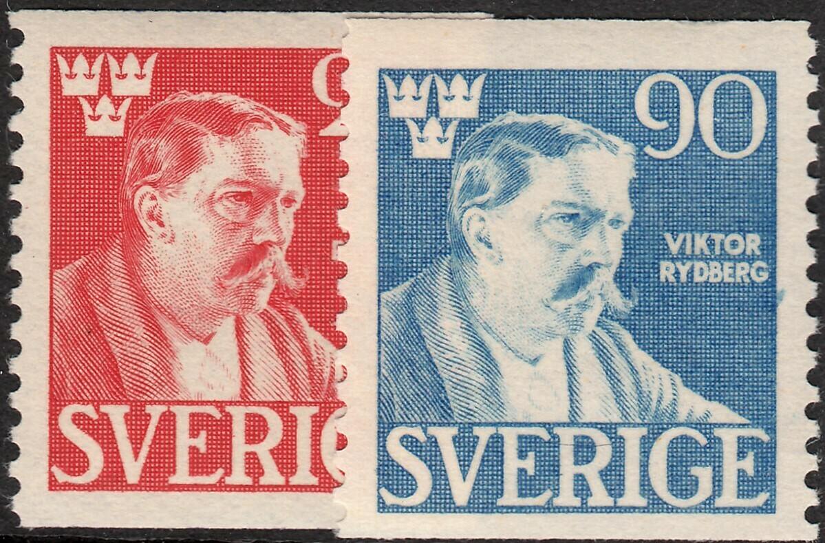 Sweden 1945 Viktor Rydberg Set MUH