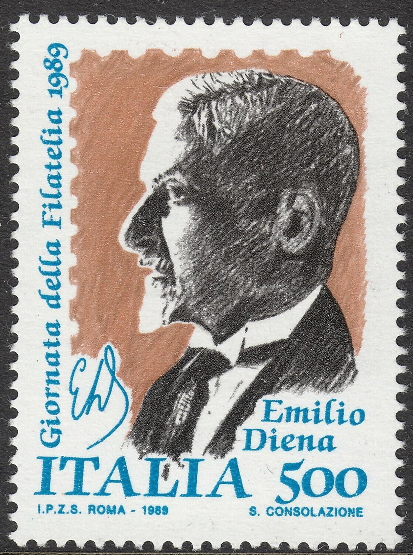 Italy 1989 500lire Stamp Day MUH